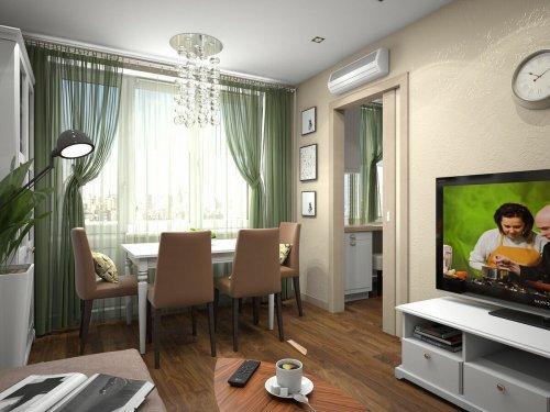 Модернизация двухкомнатной квартиры