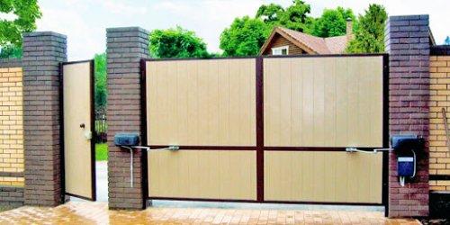 Почему следует купить заводские автоматические ворота для частного дома?