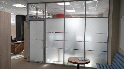 Ремонт в офисе: где установить офисные перегородки