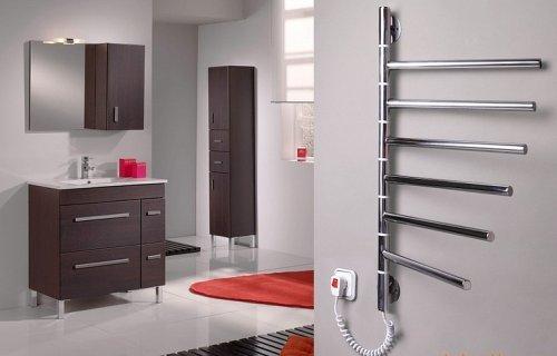 Полотенцесушители для ванной - водяной или электрический?